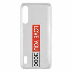 Чохол для Xiaomi Mi A3 Love you 3000