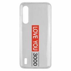 Чехол для Xiaomi Mi9 Lite Love you 3000
