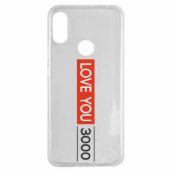Чехол для Xiaomi Redmi Note 7 Love you 3000
