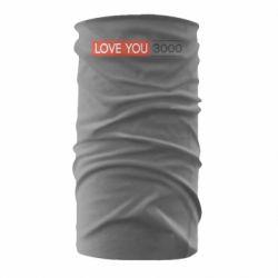 Бандана-труба Love you 3000