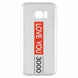 Чехол для Samsung S7 EDGE Love you 3000