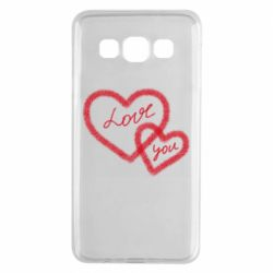 Чехол для Samsung A3 2015 Love you two heart