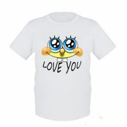 Детская футболка Love you
