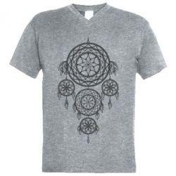 Купить Мужская футболка с V-образным вырезом Lovec snov, FatLine