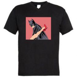 Мужская футболка  с V-образным вырезом Lovelace