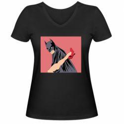 Женская футболка с V-образным вырезом Lovelace