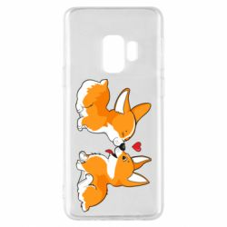 Чехол для Samsung S9 Loving Corgi Couple