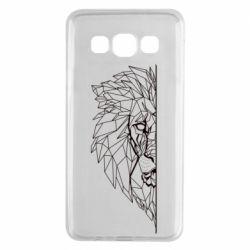 Чохол для Samsung A3 2015 Low poly lion head