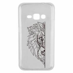 Чохол для Samsung J1 2016 Low poly lion head