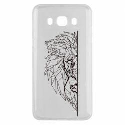 Чохол для Samsung J5 2016 Low poly lion head