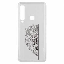 Чохол для Samsung A9 2018 Low poly lion head