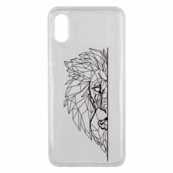 Чохол для Xiaomi Mi8 Pro Low poly lion head