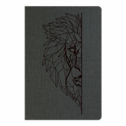 Блокнот А5 Low poly lion head
