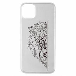 Чохол для iPhone 11 Pro Max Low poly lion head