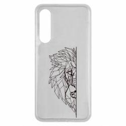 Чохол для Xiaomi Mi9 SE Low poly lion head