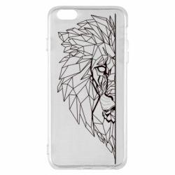Чохол для iPhone 6 Plus/6S Plus Low poly lion head