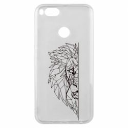 Чохол для Xiaomi Mi A1 Low poly lion head