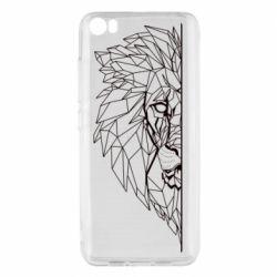 Чохол для Xiaomi Mi5/Mi5 Pro Low poly lion head