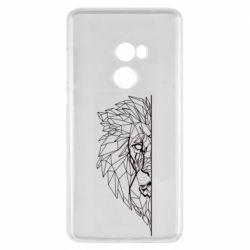 Чохол для Xiaomi Mi Mix 2 Low poly lion head