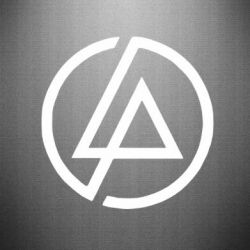 Наклейка LP logo