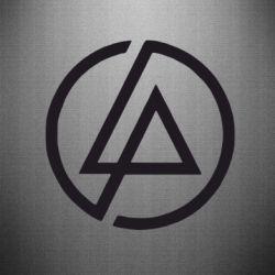 Наклейка LP логотип