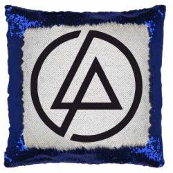 Подушка-хамелеон LP logo