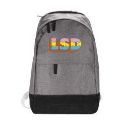 Городской рюкзак Lsd text