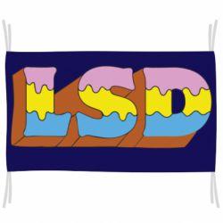 Прапор Lsd text
