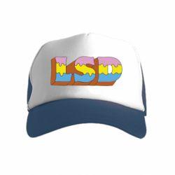 Детская кепка-тракер Lsd text