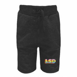 Дитячі шорти Lsd text