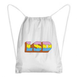 Рюкзак-мішок Lsd text