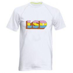 Чоловіча спортивна футболка Lsd text