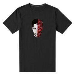 Чоловіча стрейчева футболка Lucifer the man and the devil