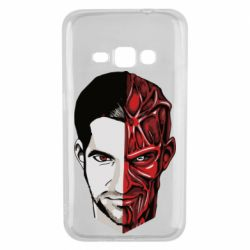 Чохол для Samsung J1 2016 Lucifer the man and the devil