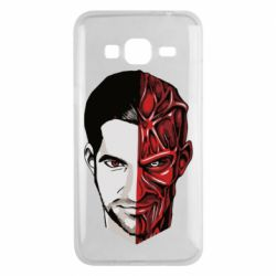 Чохол для Samsung J3 2016 Lucifer the man and the devil
