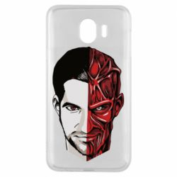 Чохол для Samsung J4 Lucifer the man and the devil