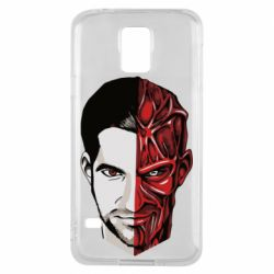 Чохол для Samsung S5 Lucifer the man and the devil