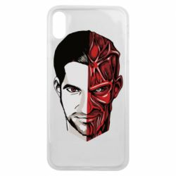 Чохол для iPhone Xs Max Lucifer the man and the devil