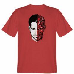 Мужская футболка Lucifer the man and the devil