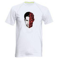 Мужская спортивная футболка Lucifer the man and the devil