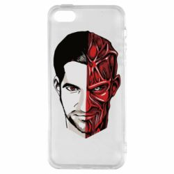 Чохол для iphone 5/5S/SE Lucifer the man and the devil