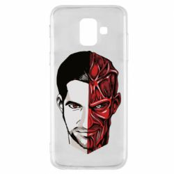 Чохол для Samsung A6 2018 Lucifer the man and the devil