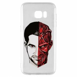 Чохол для Samsung S7 EDGE Lucifer the man and the devil