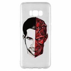Чохол для Samsung S8+ Lucifer the man and the devil