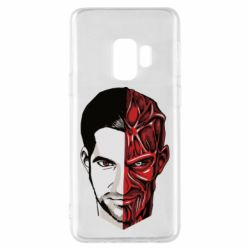 Чохол для Samsung S9 Lucifer the man and the devil