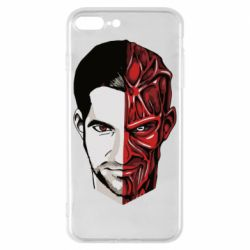 Чохол для iPhone 8 Plus Lucifer the man and the devil