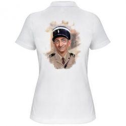 Женская футболка поло Луи де Фюнес