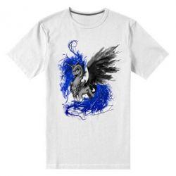 Купить Мужская стрейчевая футболка Лунная пони, FatLine