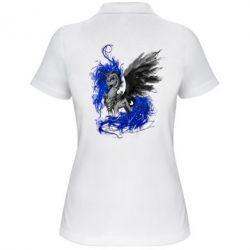 Купить Женская футболка поло Лунная пони, FatLine
