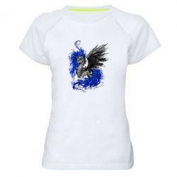 Женская спортивная футболка Лунная пони